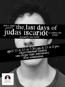 Brian Patrick Butler in The Last Days of Judas Iscariot - SDSU